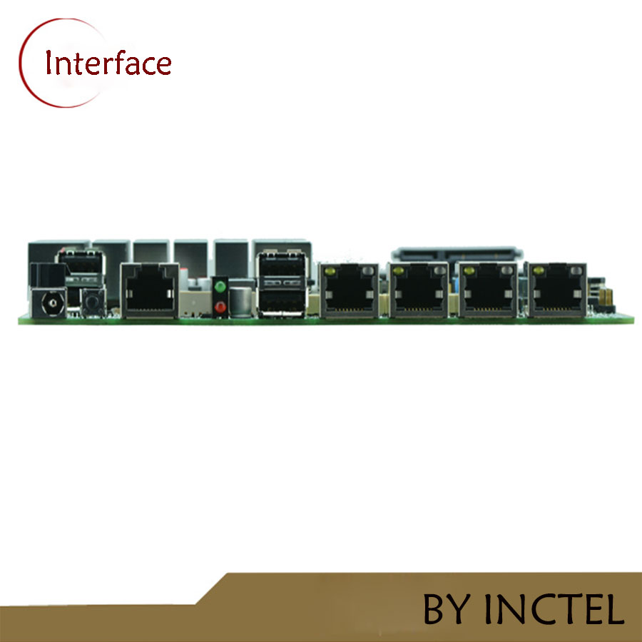 J1900 Server motherboard with bypass