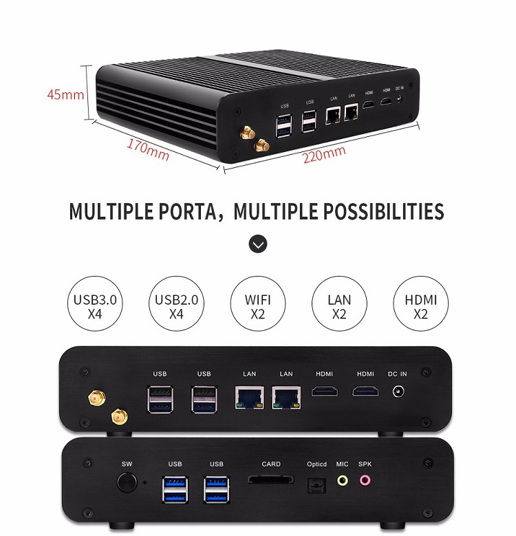Partaker B2 Powerful Business Mini PC