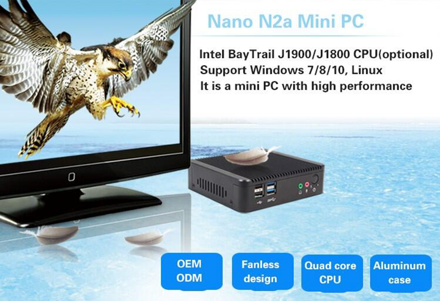 Partaker Mini PC,Firewall,Router,Foxconn Nano PC