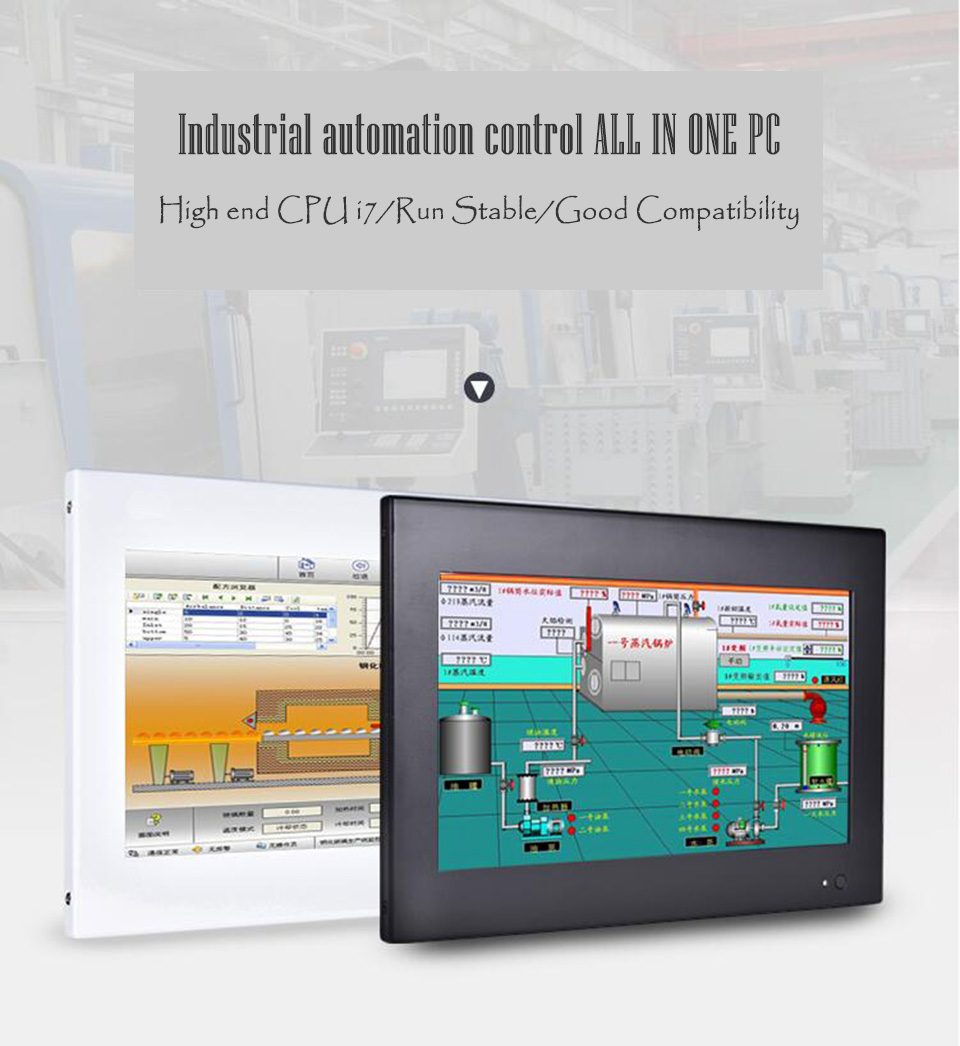 Intel Core I7 4510U,4 Wire Resistive Industrial Touch Screen,Industrial Touch Screen
